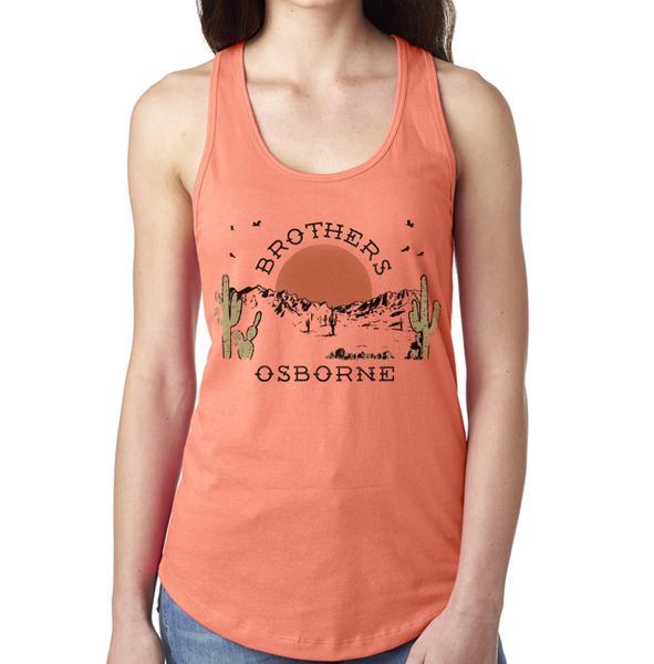 80f8a79ff76 Women s Sunset Peach Tank
