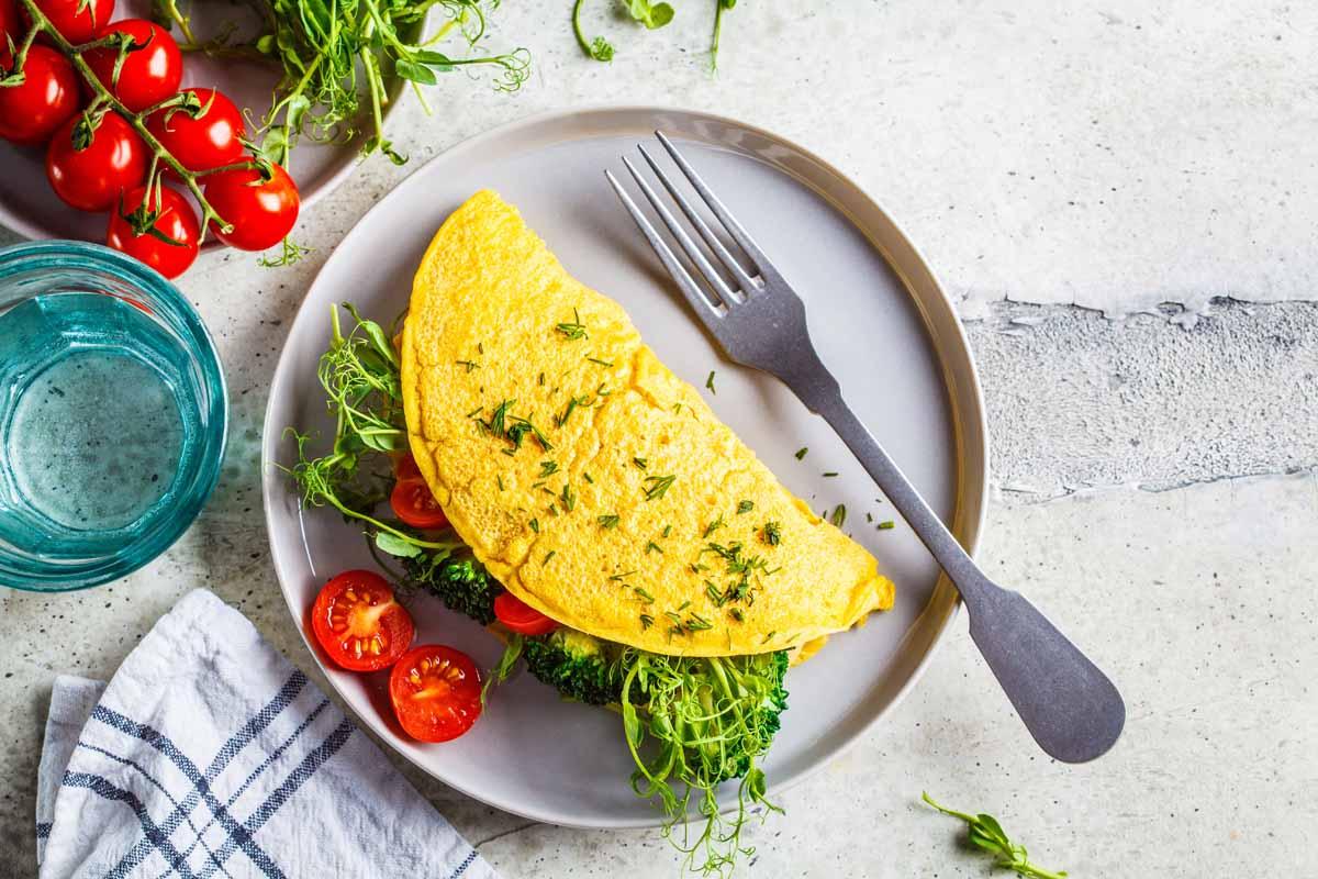 "Chickpea ""Omelet"" / Savory Pancake"