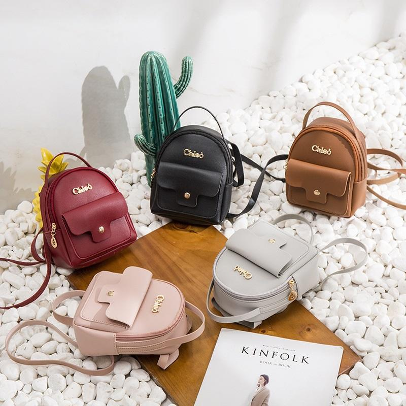 All Day Leather Mini Backpack