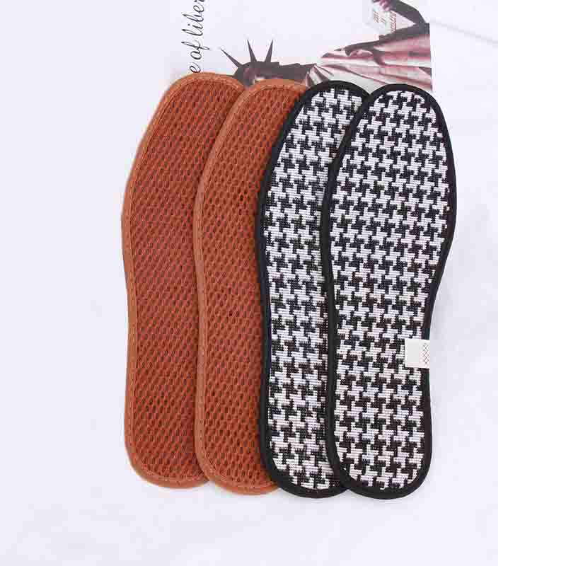 Houndstooth Inspired Deodorizing Shoe Insoles