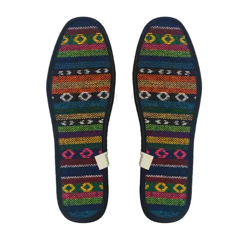 Plaid and Tribal Print Deodorizing Insoles