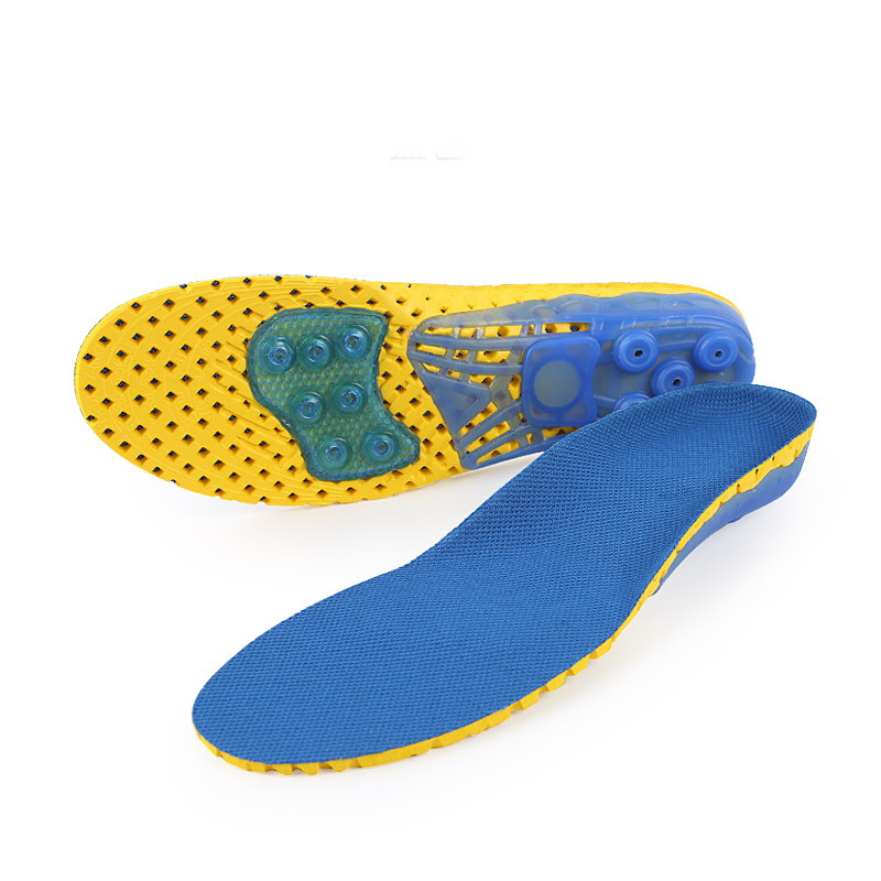 Mesh Spring Insoles for Running
