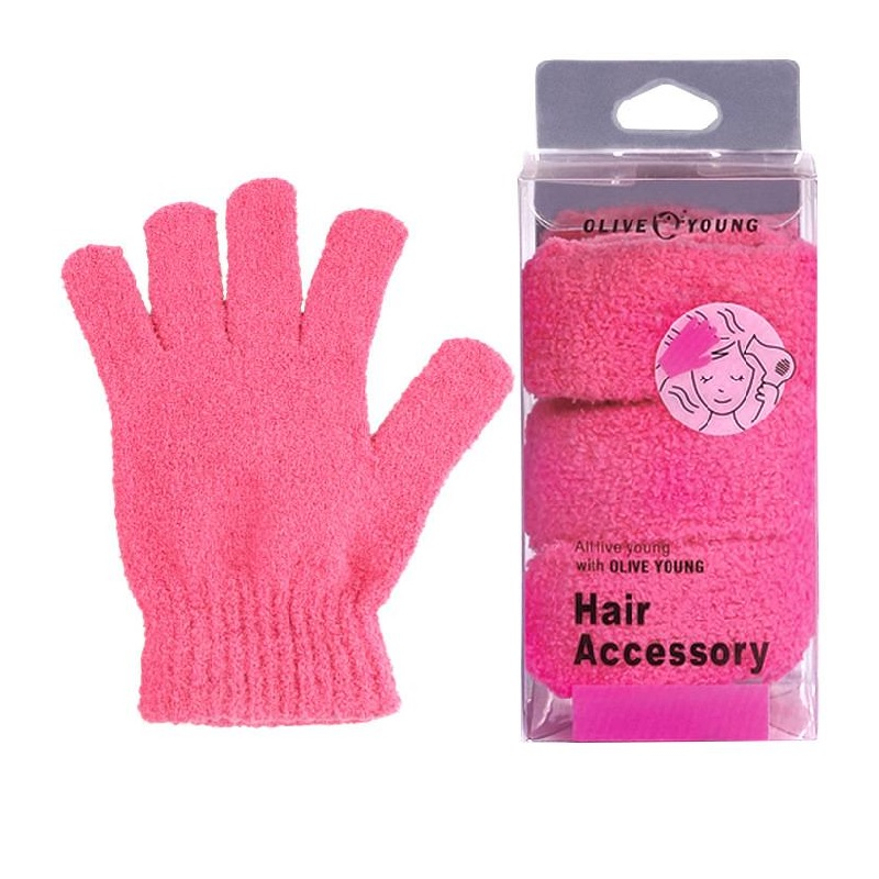 Pink Cashmere Protective Gloves