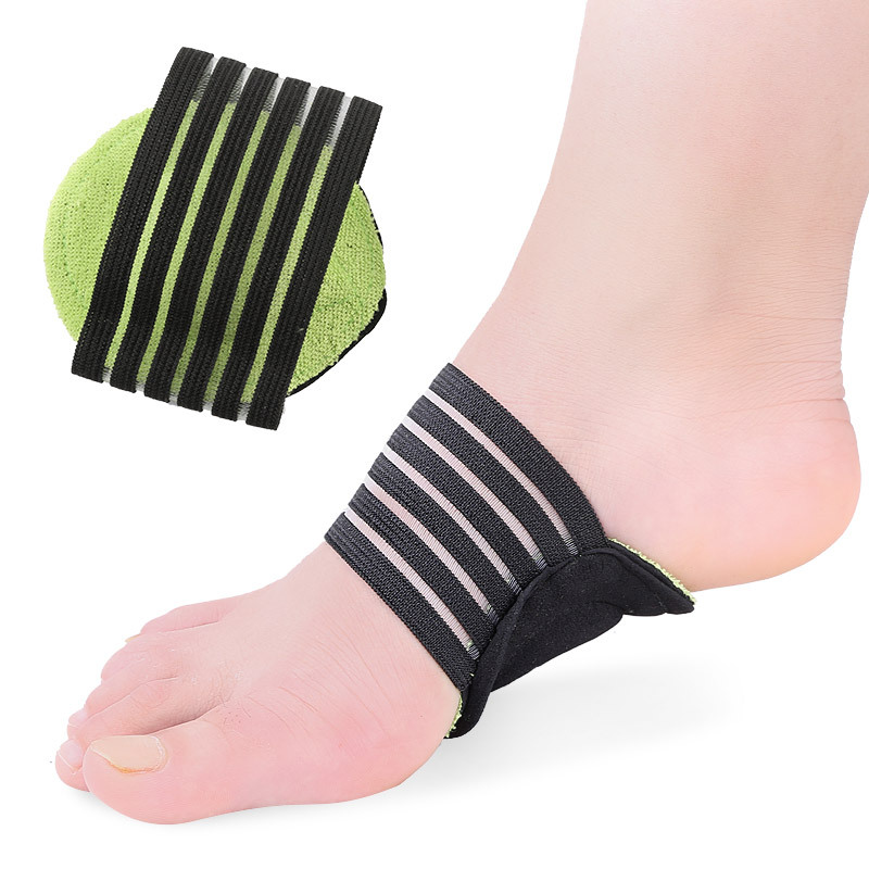 Black and Green Arch Foot Pad