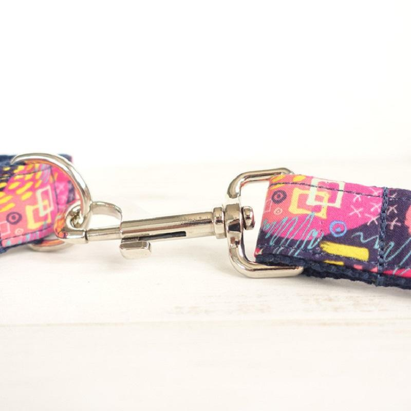 Pinky Pet Collar and Leash