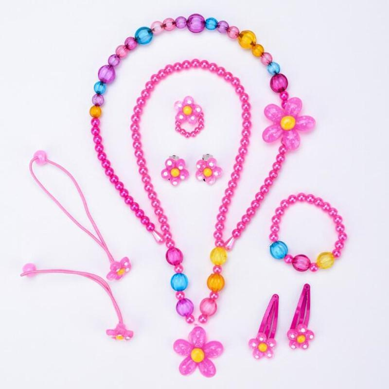 Children's All Out Pink Jewelry Set
