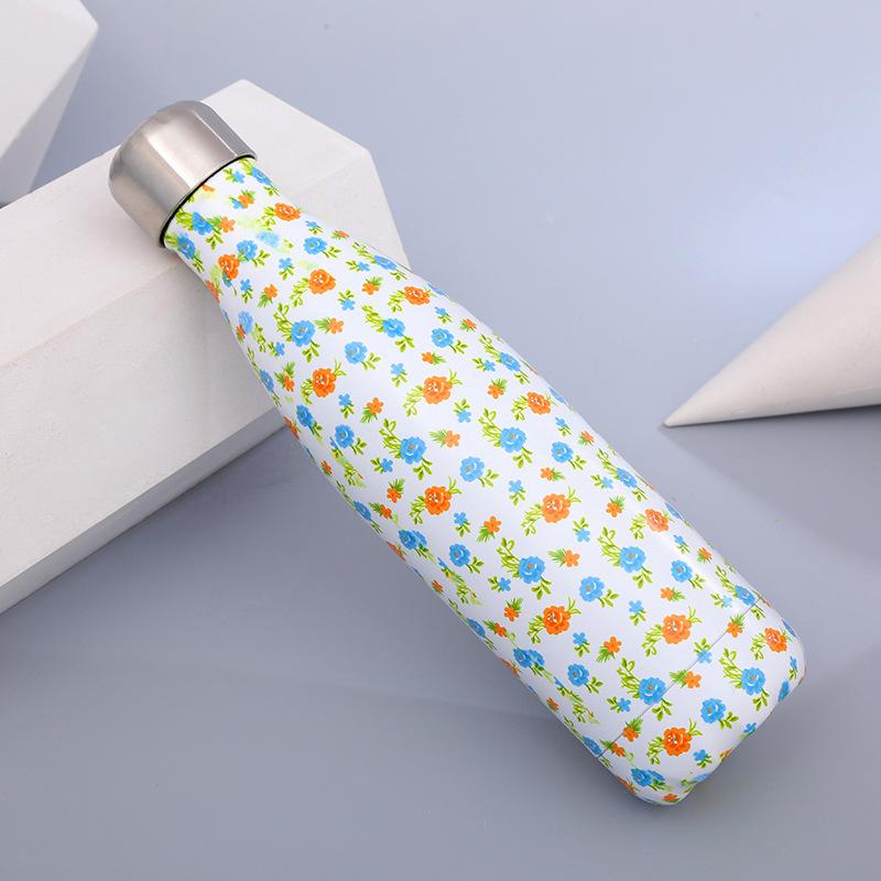Floral Travel Thermos