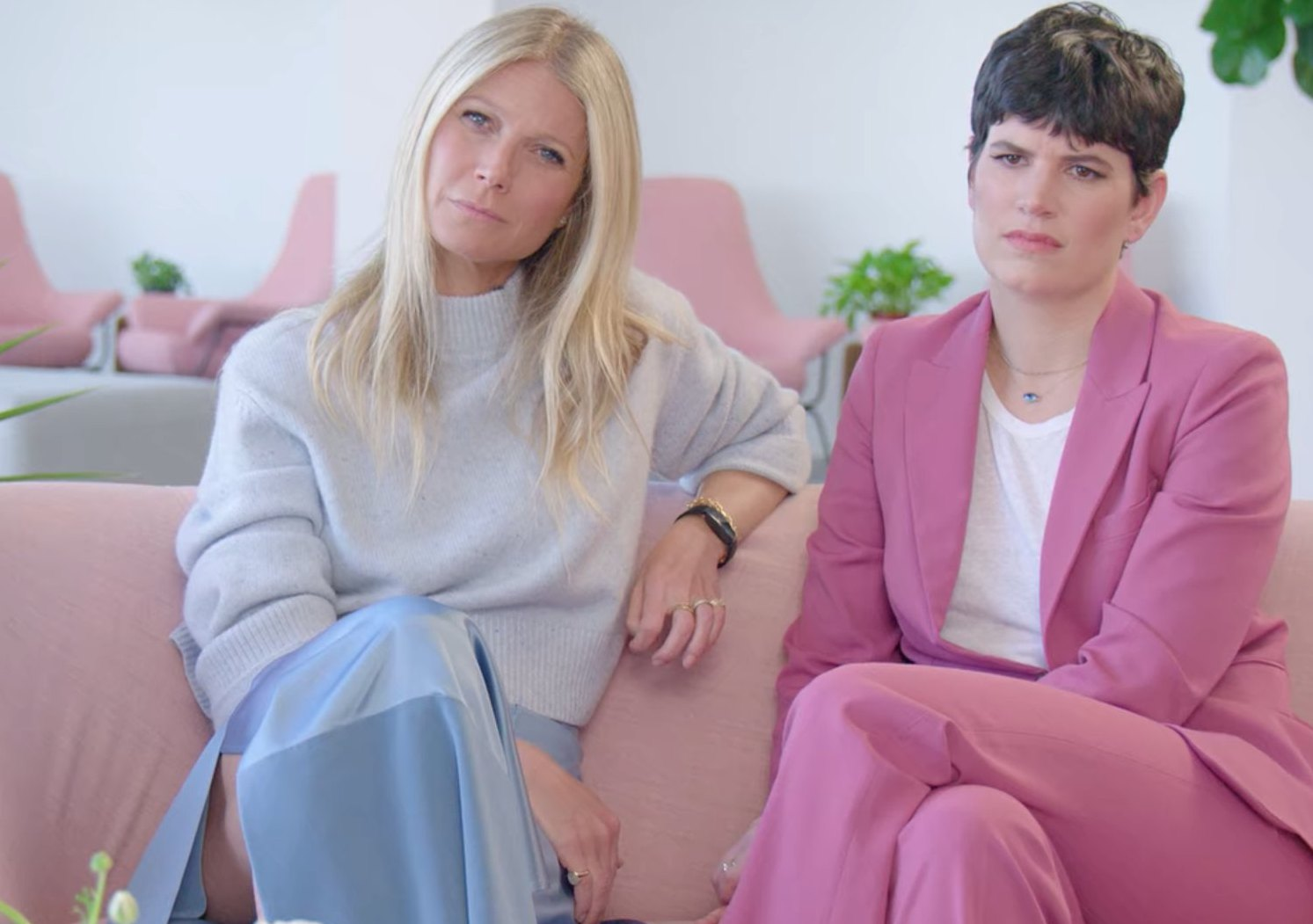 Here's How to Get a Couch Like That Millennial Pink One on 'The Goop Lab' | Hunker