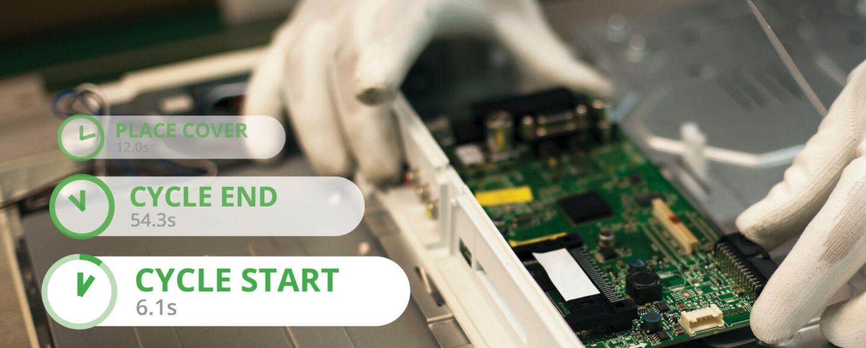 Drishti electronics assembly
