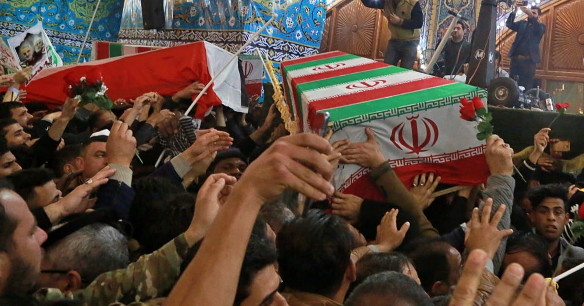 A medida que Irak se recupera del ataque estadounidense, sus políticos se vuelven contra Washington