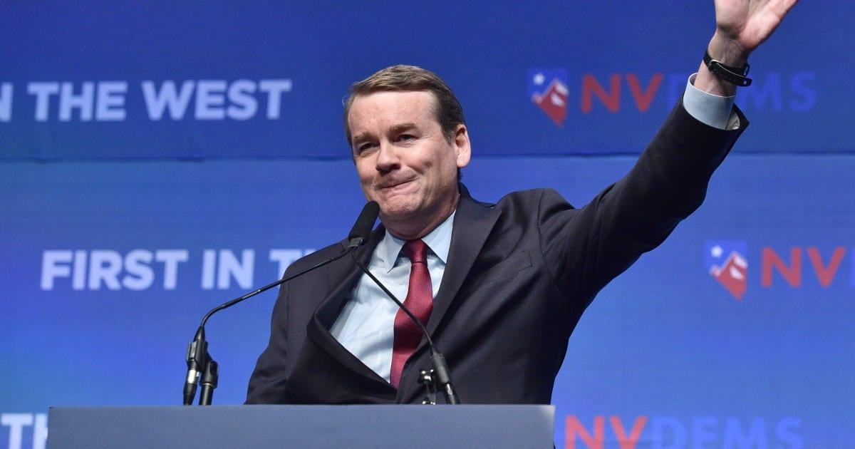 El candidato presidencial demócrata Michael Bennet promete $ 6 billones de 'Real Deal'