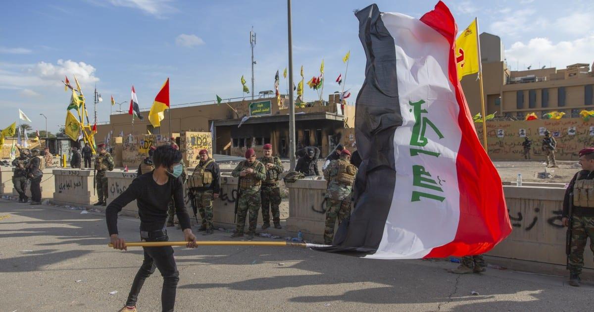 El ataque a la embajada de los Estados Unidos en Bagdad subraya la polarización de Estados Unidos, y el peligro