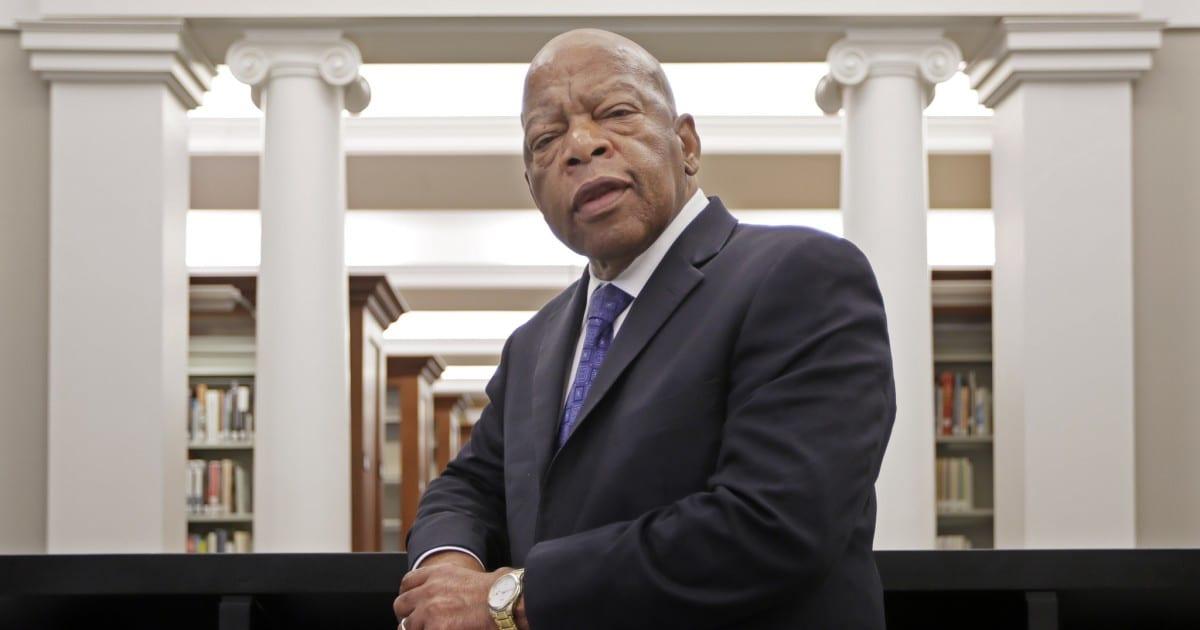 El representante John Lewis de Georgia, querido ícono de los derechos civiles, dice que tiene cáncer de páncreas