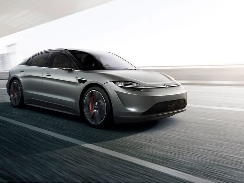 Sony presenta un prototipo de vehículo eléctrico en CES con un socio proveedor