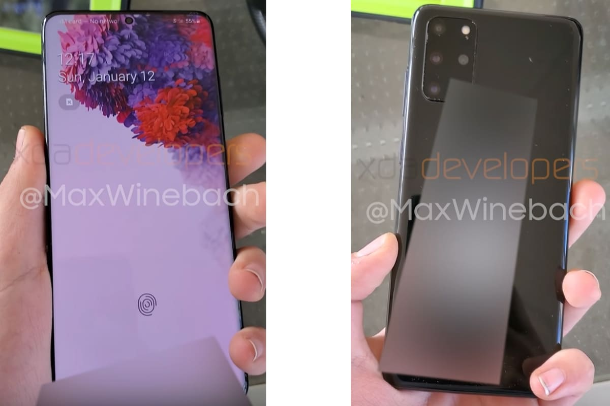 Samsung Galaxy S20+ Hands-On Video Leaks, Rumoured to Offer 8K Video Recording; Galaxy Buds+ Said to Have No ANC