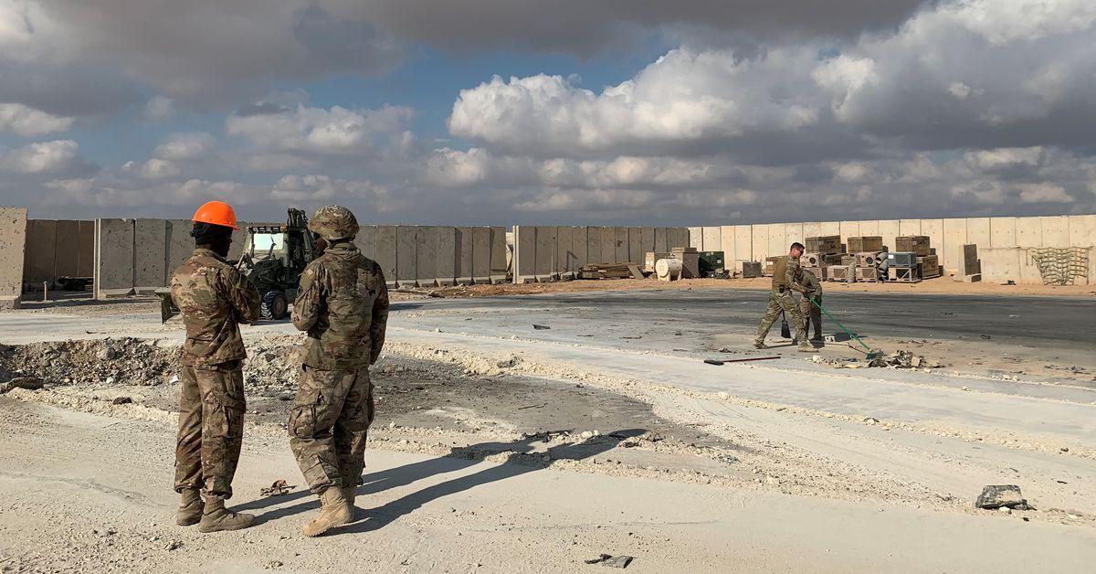 """Trump: las lesiones de las tropas estadounidenses por el ataque de Irán """"no son muy graves"""""""