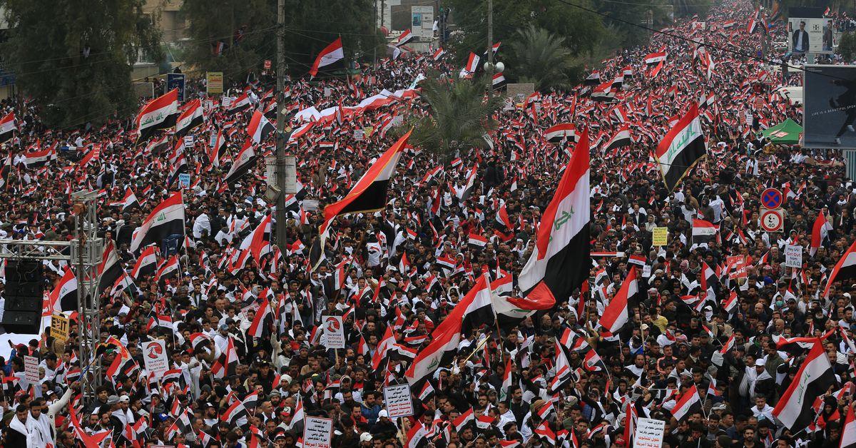 Las protestas en Irak exigen que las tropas estadounidenses se vayan. Pero Irán sigue siendo un gran foco.
