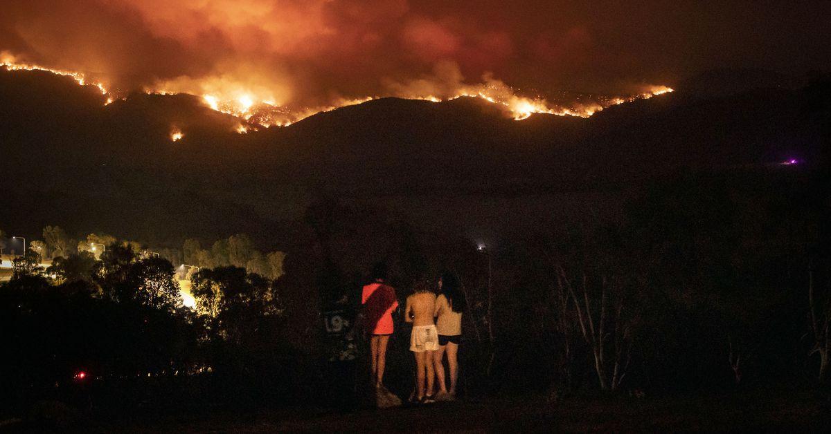 Los incendios de Australia se acercan a la capital, Canberra