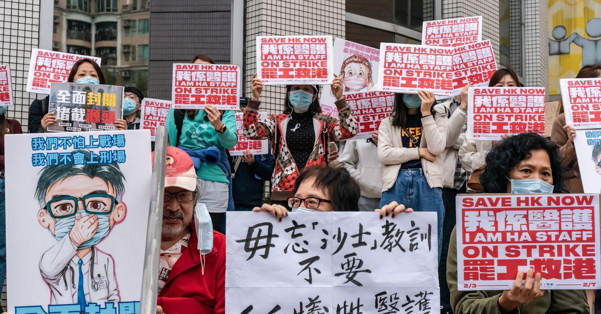 Hong Kong: las protestas se encuentran con el coronavirus