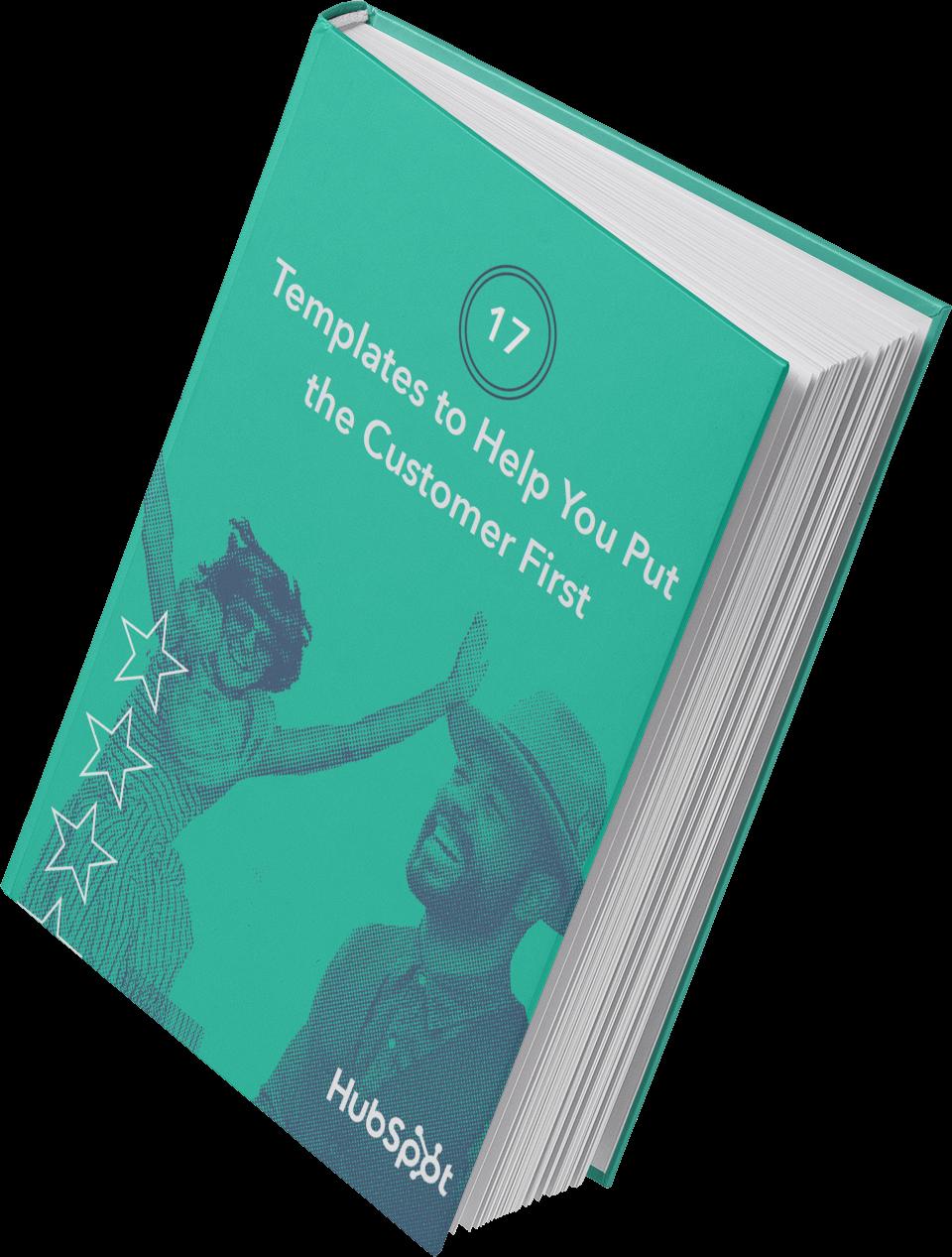 imagen de las plantillas de hubspot para ayudar a los lectores a poner al cliente en primer lugar