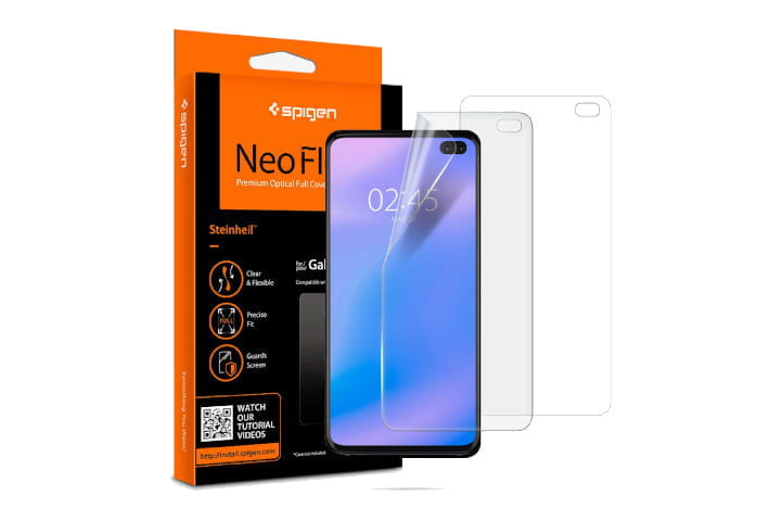 Protector de película Spigen NeoFlex para Galaxy S10 Plus