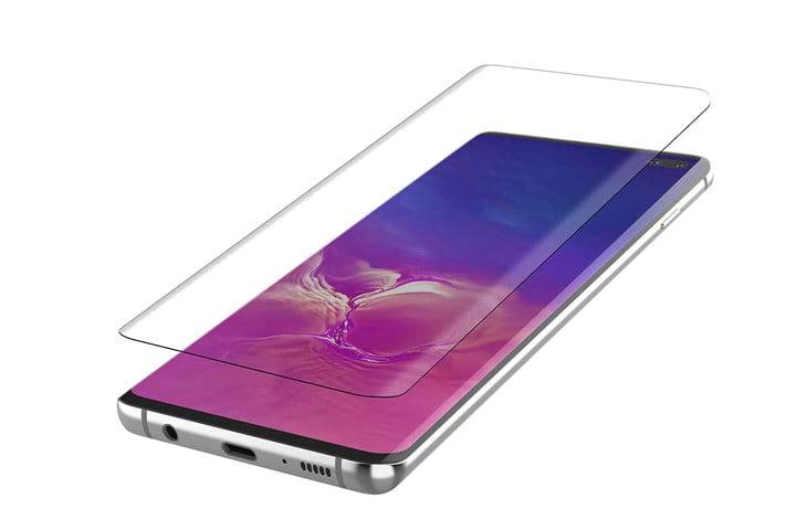 Protector de vidrio Belkin Screenforce para Samsung Galaxy S10 Plus