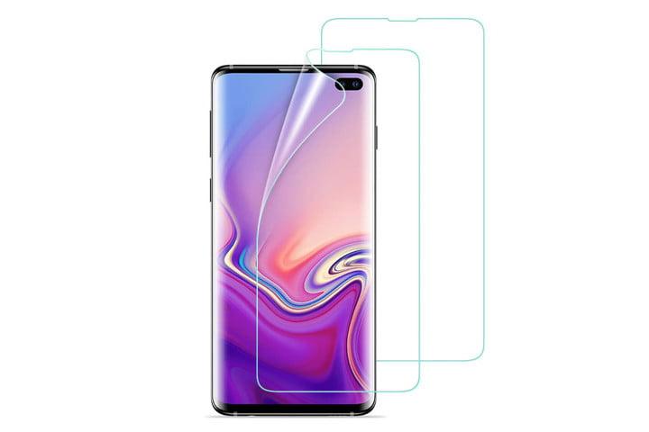 Protector de pantalla de cobertura total ESR Liquid Skin para Samsung Galaxy S10 Plus