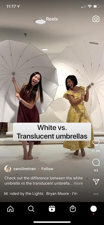 Video de formato corto de Instagram Reel