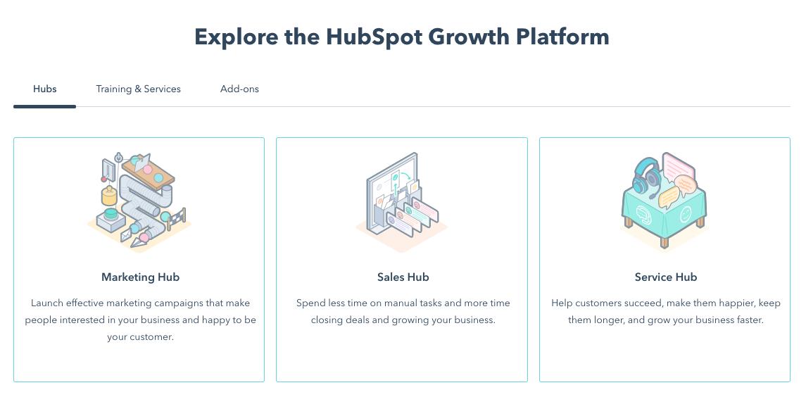 hubspot crm homepage demo