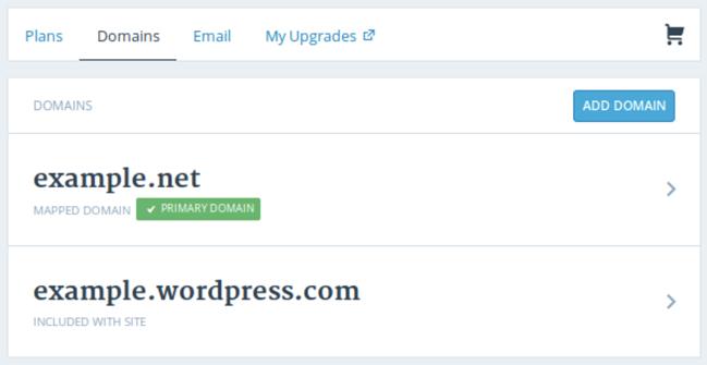 verify domain for WordPress website