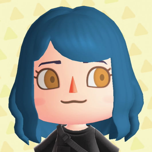 Animal Crossing New Horizons Cabello y ojos