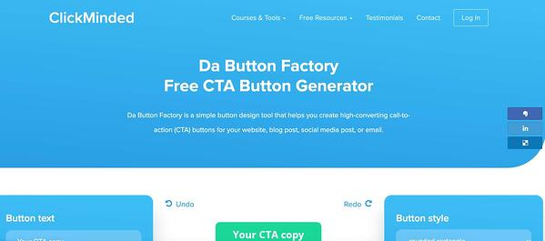 herramienta de llamada a la acción de cta clickminded