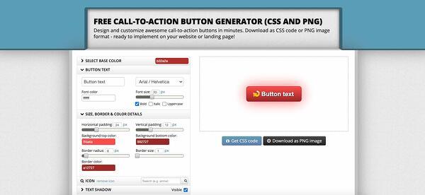 botón optimizador cta herramienta de llamada a la acción