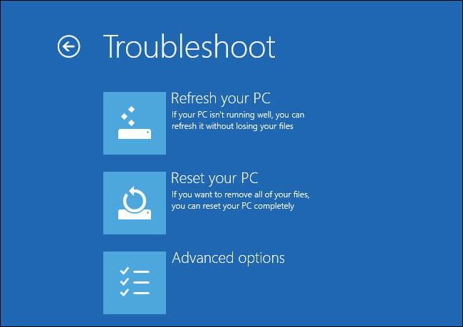 Solucionar problemas de PC con Windows