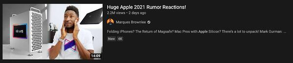 marques brownlee youtube video thumbnail example