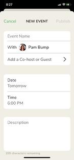 Schedule room form