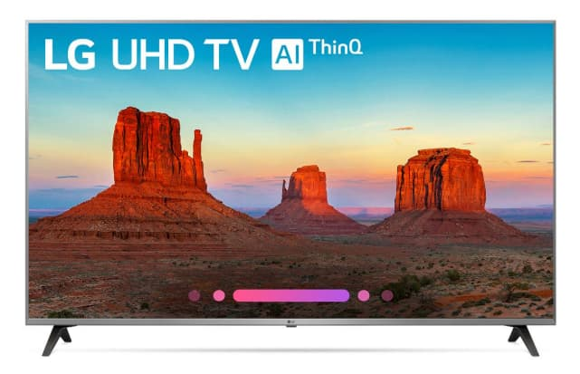 Smart TV LG UHD con AIThinQ