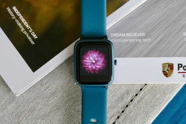 Compré el reloj inteligente más barato en Amazon.