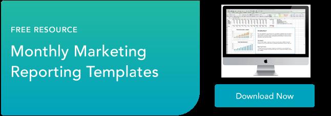 plantillas de informes de marketing