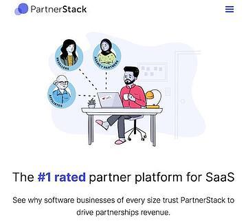 Herramienta de marketing de rendimiento de Partnerstack