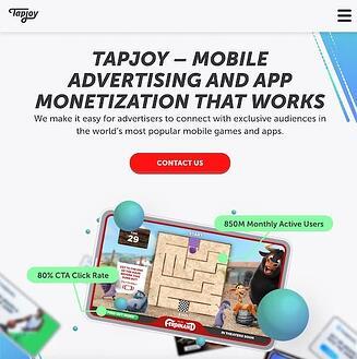 Herramienta de marketing de rendimiento TapJoy