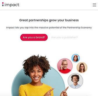 Herramienta de marketing de rendimiento de impacto