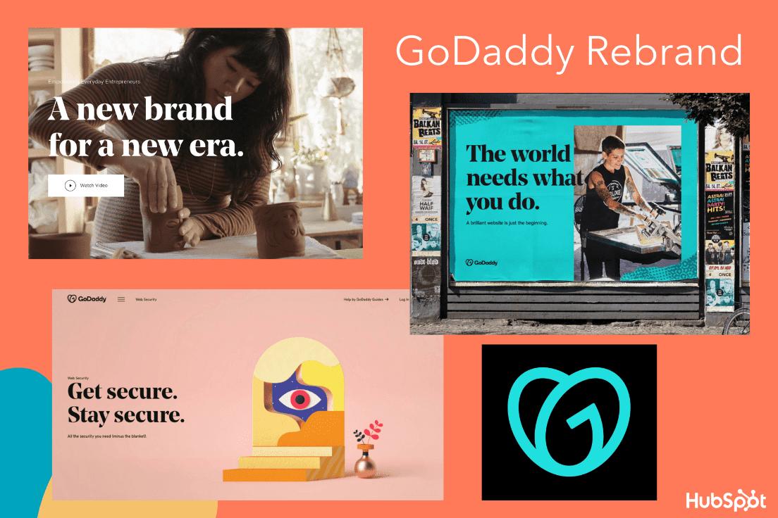 El mayor cambio de marca de GoDaddy en 2020