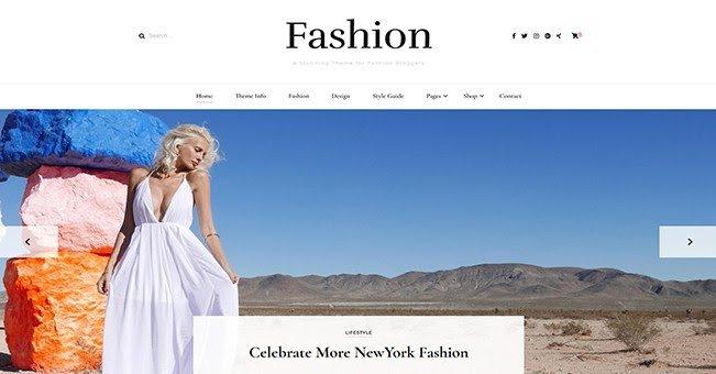 Blossom Fashion tema gratuito para blogs de WordPress