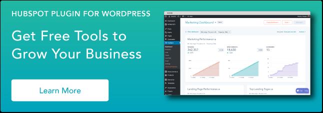 Use las herramientas de HubSpot en su sitio web de WordPress y conecte las dos plataformas sin tener que lidiar con el código. Clic aquí para saber más.