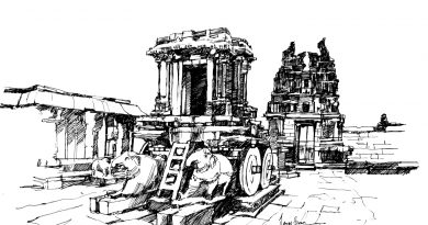 Sketch of the Vittala Temple