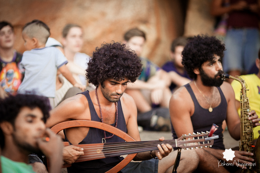 Musicians Kishore Nagarigari Hampi