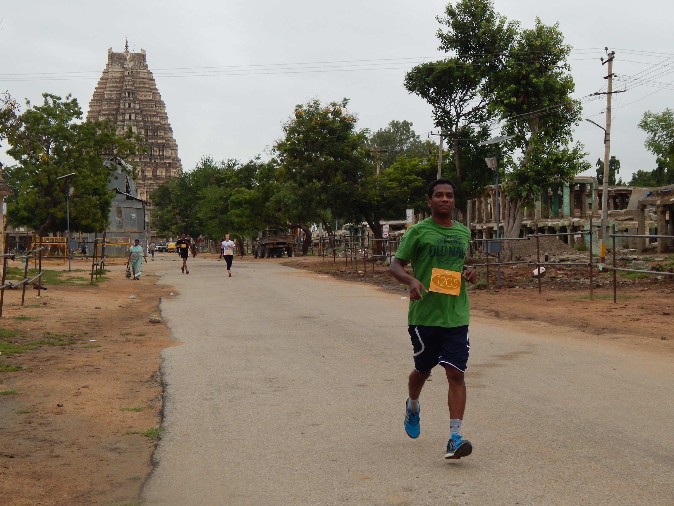Runners Hampi