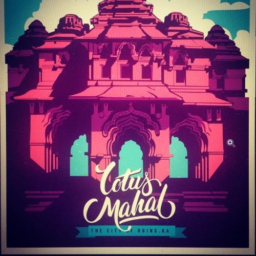 Lotus Mahal Hampi Ranganath