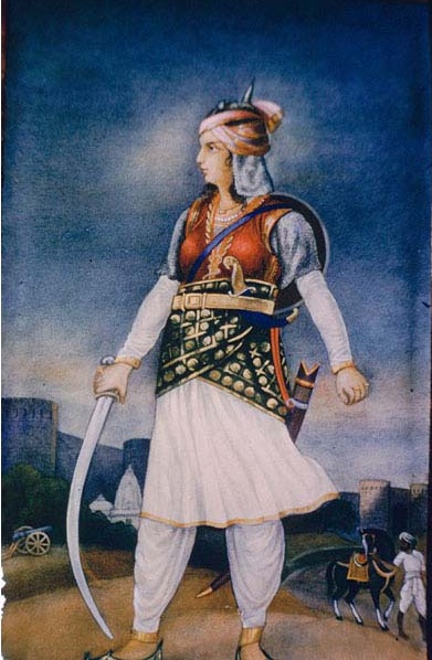 Chand Bibi -Female Warriors of India